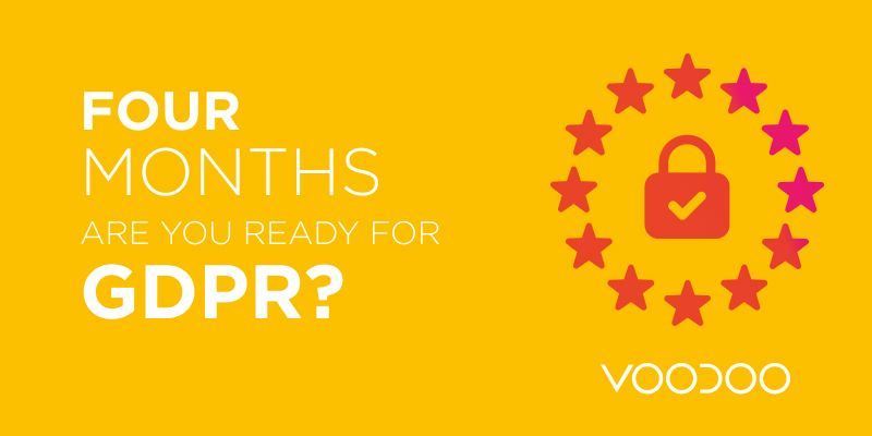 127 Days and Counting - Are you ready for GDPR?