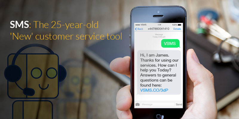 SMS: The 25-year-old 'New' customer service tool