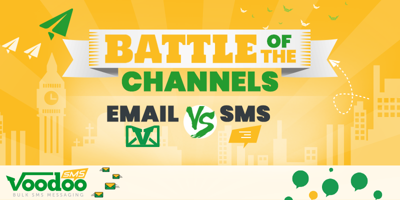 Battle of the Channels: SMS vs Email
